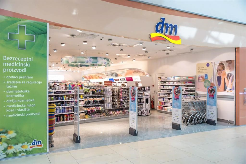 Avenue Mall Zagreb Dm Drogerie Markt