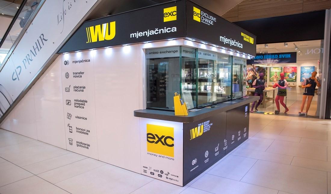 Avenue Mall Zagreb Western Union