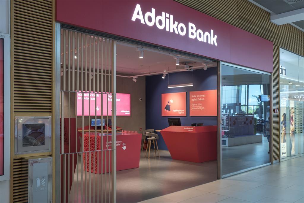 Avenue Mall Zagreb Addiko Bank