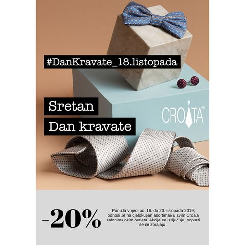 Dan kravate u  Croati!