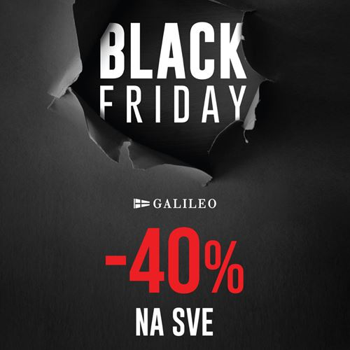 Black Friday popust u Galileo trgovini