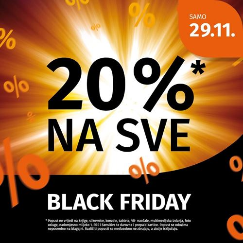 Super Müller popust za Black Friday