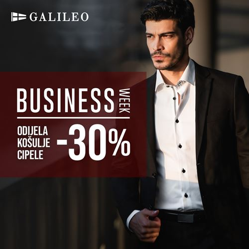 Galileo <br/> business week!
