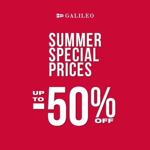 Galileo Summer Special Prices!
