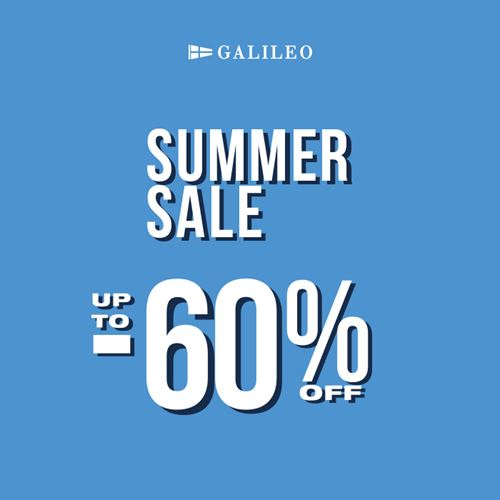 Galileo Summer  Sale!