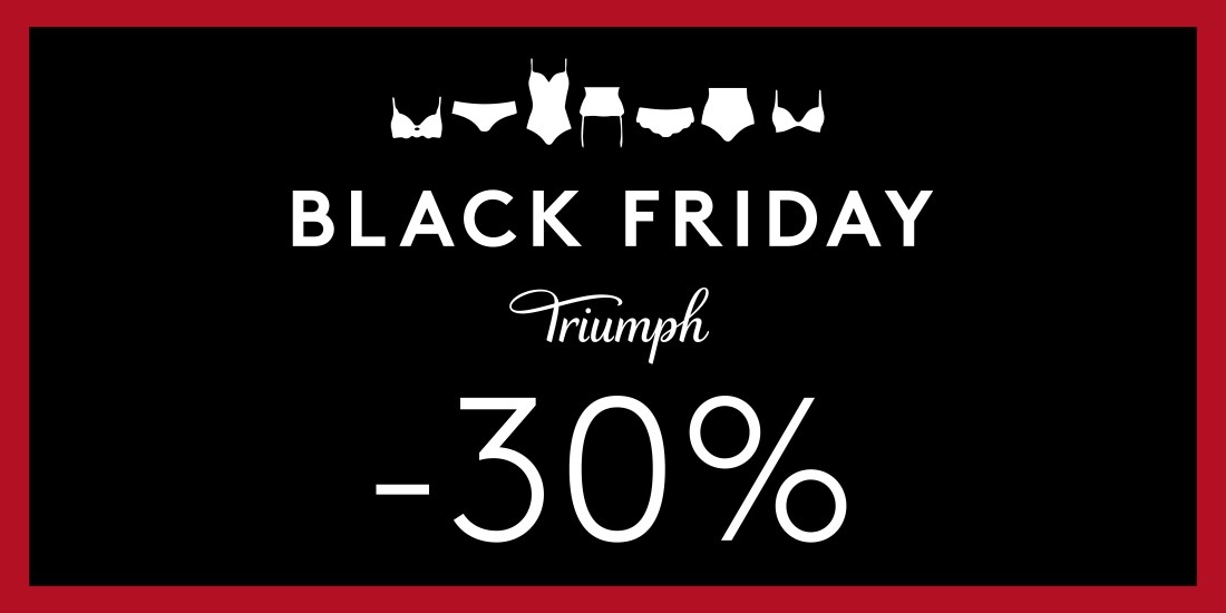 Black Friday popusti u trgovini Triumph