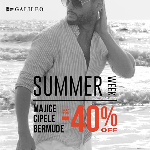 Galileo summer  week -40%