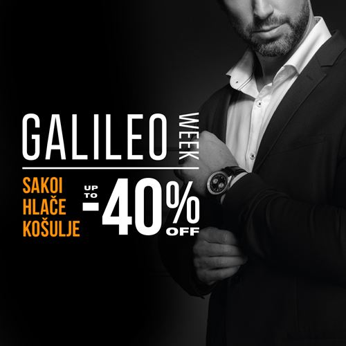 Galileo week  do -40%!