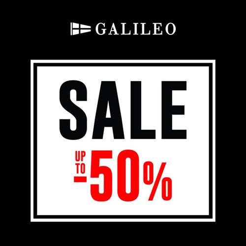 Galileo sale  do -50%